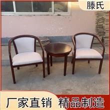简约现代西餐实木桌椅 咖啡厅成套桌椅组合价格 欢迎选购