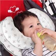 婴儿定型枕 儿童护头枕 汽车安全座椅头枕 婴儿U型枕 头部固定枕