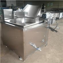 酥虾油炸流水线 水产品真空油炸流水线 豆泡油炸流水线 鑫悦诚食品机械