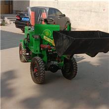 市区施工小型电动装载机 无排放室内电动铲车 家用便捷电动装载小铲车厂家直销