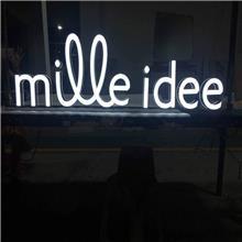 无边LED发光字 不锈钢亚克力发光字