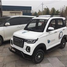 昇朗 霸道款  新式双排电动观光车   女士接送孩子微型电车  节能环保