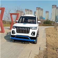 昇朗霸道款  新款吉普电动汽车  铁壳载重汽车拉货电动车