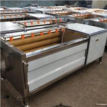 鲍鱼毛辊清洗机 海鲜喷淋清洗机 毛刷式洗海鲜机器