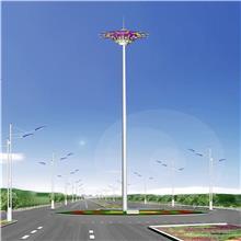 LED高杆灯升降式 20米25米1000w集成广场灯 球场道路户外高杆路灯