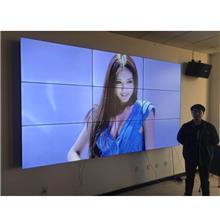 拼接屏55英寸支持4K窄边 3.5mm拼缝安防监控商场广告展示  龙呈伟业沈阳实地商家