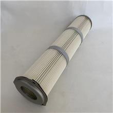 除尘器配套除尘滤筒 方卡盘除尘滤芯 法兰圆盘除尘滤芯可定制