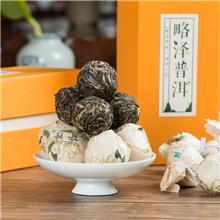 普洱龙珠茶订购  古树纯料  云南勐海南糯山姑娘寨古树普洱茶生茶