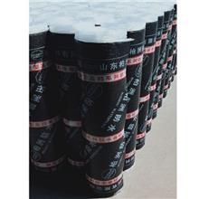 自粘聚合物改性沥青防水卷材 1.5mm2mm3mm 铜胎基耐根穿刺防水卷材 湖北1.5mm2mm3mm 铜胎基耐根穿刺防水卷材 柏洲防水
