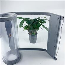 通风磁吸门帘 磁吸透明门帘 夏季空调屋自吸挂帘 荣磁供应