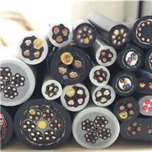 国标4芯坦克高柔性拖链电缆 耐折铜芯伺服编码器柔性电缆线 高柔性电缆价格