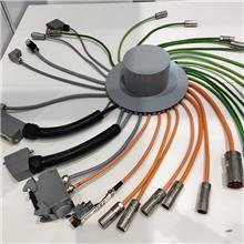 国标4芯坦克高柔性拖链电缆TRVV耐折铜芯伺服编码器柔性电缆线