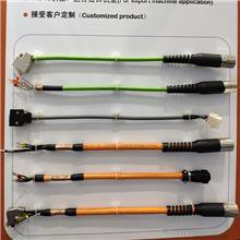 直供伺服电机电缆线 原装电机编码器电缆 国标多芯伺服电缆 伺服电缆价格