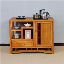新款定制别墅用 茶水柜 耐腐抗蛀 时尚简约实木餐边柜