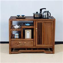 山东新款定制主题餐厅用 茶水柜 木质坚硬 老榆木餐边柜