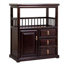 新款定制茶楼用 餐边柜 耐腐蚀 实木餐边柜