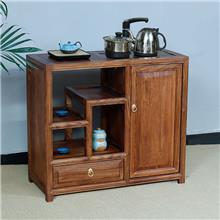 厂家供应客栈用 茶水柜 木色彩鲜艳 老榆木餐边柜