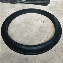 沧汇生产大尺寸三元乙丙橡胶EPDM法兰密封垫 带螺栓孔管道密封垫