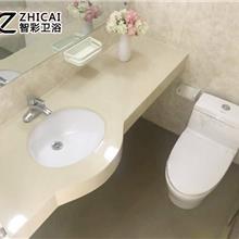 集成房屋整体卫生间 防爆玻璃淋浴房 简易浴室 销售直销