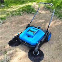 工程塑料款地面清理机  工业无动力手推式扫地机 适合工厂车间洗地机价格