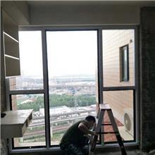 廊坊落地断桥铝合金门窗 隔音隔热玻璃窗 窗纱一体平开窗封阳台窗户