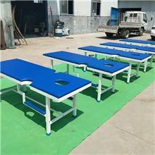 山东正德医疗 耐用按摩检查 床  不锈钢按摩床  钢制起背按摩床 长期供应