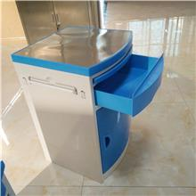 山东现货 钢制白色紫色可选床头柜 ABS医用床头柜 信誉厂家