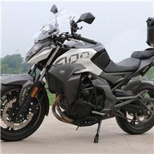 适用于春风400NK保险杠650NK竞技杠摩托车前护杠防摔杠棒改装配件-特技杠+双铝棒防摔