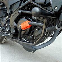 适用于贝纳利小幼狮250保险杠防摔杠摩托车改装配件保护杠前护杠-保险杠+防摔头+防摔抱块