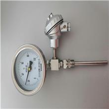 晶耀仪表WSS系列 远传双金属温度计 不锈钢双金属温度计 温度仪表生产厂家