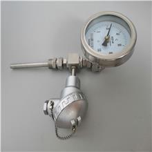 WSSP-481远传双金属温度计 不锈钢双金属温度计 温度仪表生产厂家