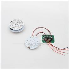 矿用隔爆型LED机车灯/掘进机照明信号灯/远近光灯/转向灯光源驱动 9W15W18W24W