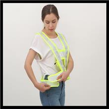 交通反光背心LED反光背心马甲布马甲网背心V字型马甲