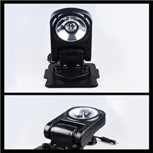 360度旋转探照灯 LED车载遥控探照灯汽车led转向灯  车边灯强光无线遥控搜索灯
