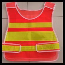 交通安全反光背心 LED爆闪反光背心 热熔字反光马甲 反光衣