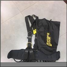 全身户外安全带 耐磨高空作业安全带 五点式消防救援安全带