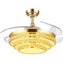 福建隐形风扇灯-变频吊扇灯风扇吊灯-简约客厅卧室餐厅-吸顶吊灯批发