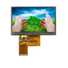 4.3寸IPS显示屏480*272全彩液晶屏 LCD显示???4.3寸TFT晶屏显示屏