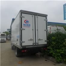 福田欧马可4.2米蓝牌冻货食品果蔬保鲜车冷链车厂家定制9.6米冷链物流车可上户
