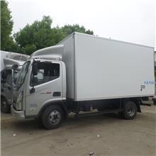 国六东风凯普特6.8米冷藏车食品保鲜冷冻运输车