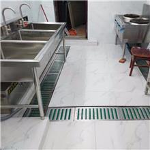 餐饮店后厨水沟盖板 广安市西餐厅厨房水篦子 迅鹰排水篦子生产厂