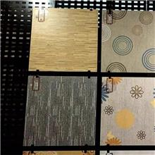 穿孔板瓷砖展架 开封市地板砖黑色烤漆挂板 迅鹰冲孔板展示架厂