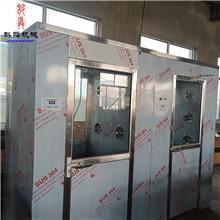 厂家供应单人双吹风淋室 车间通道风淋室 厂间进出净化器