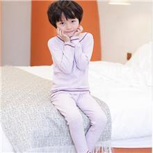 初贝禾-儿童秋衣套装-蚕丝德绒-秋冬款-支持来样定制-厂家销售批发