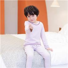 初贝禾品牌-儿童秋衣套装-蚕丝德绒-秋冬款新品-厂家批发出售