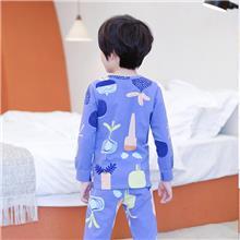 儿童内衣套装-莱卡棉-秋冬款-初贝禾品牌-源头厂家直供