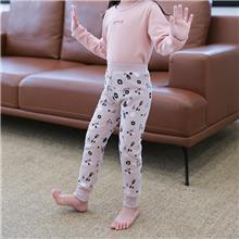 儿童保暖裤-罗纹棉-秋冬款-初贝禾品牌-支持来样定制加工OEM贴牌
