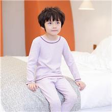 初贝禾品牌-儿童秋衣套装-蚕丝德绒-秋冬款-2020新款-厂家直供