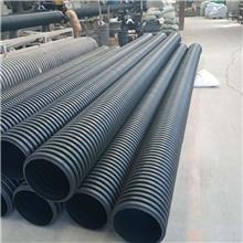 国标PE雨水波纹管 忻州PE双壁波纹管 雨污分流PE排水管 铺设要求