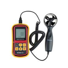 霸州得力15A分体风速仪高精度分体测风仪风速风温风量检查仪